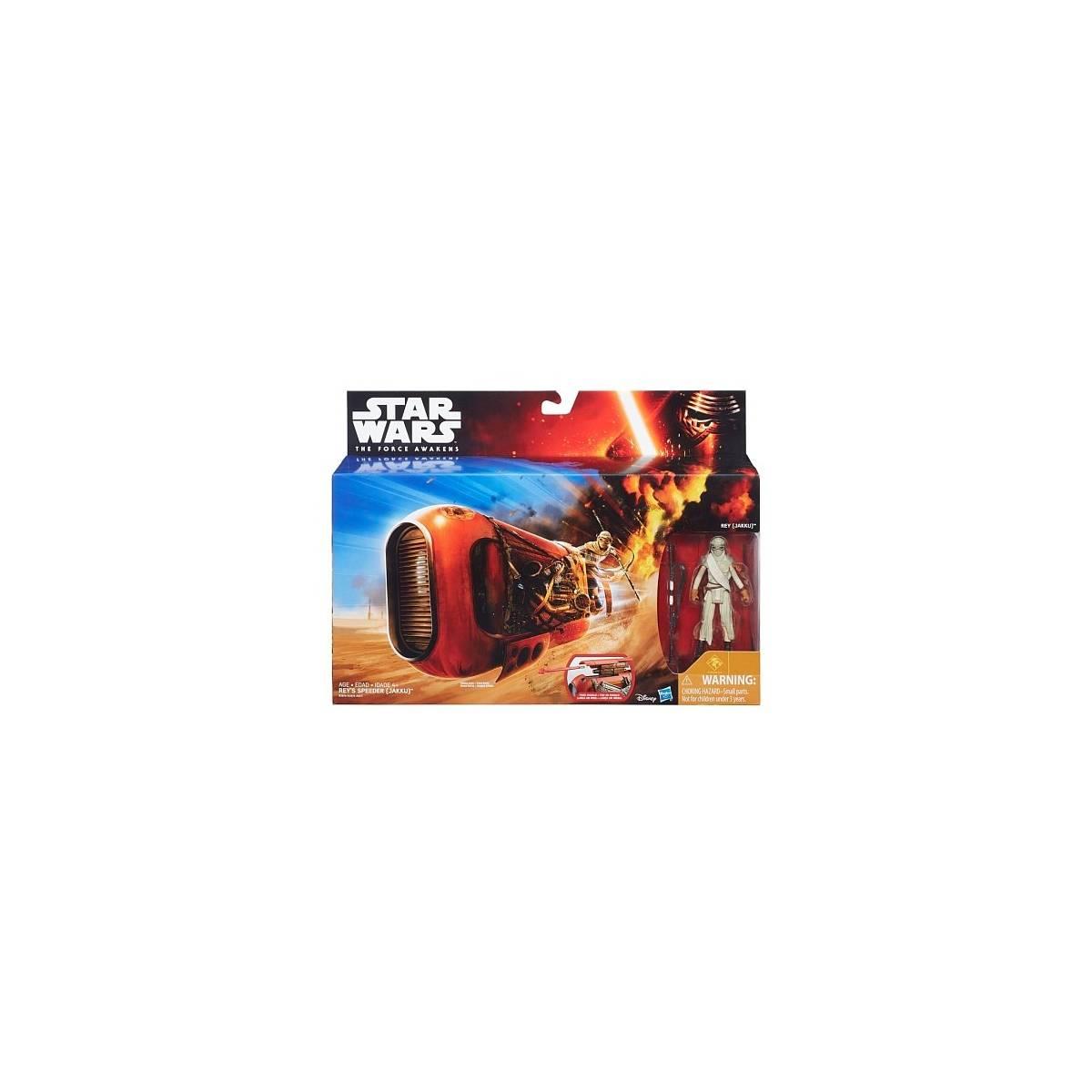 Star Wars - Véhicule - Rey's Speeder - B3676