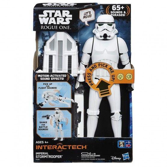 Star Wars - Figurine 30 cm Interactive - Stormtrooper Impérial