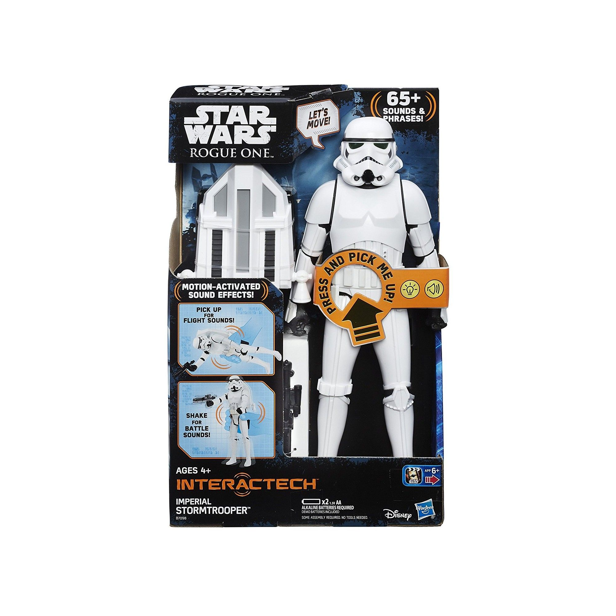 star wars figurine 30 cm interactive stormtrooper imp rial. Black Bedroom Furniture Sets. Home Design Ideas
