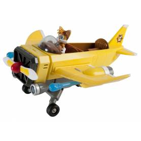 TOMY - Sonic Boom - Véhicule - Avion d'Intervention