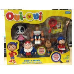 Oui-Oui - Pack de 5 Figurines - Oui-Oui et ses Amis