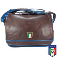 Vespa - Sac Besace Messenger FIGC - Marron