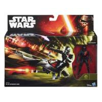 Star Wars - Véhicule Elite Speeder Bike et Figurine Stormtrooper - B3718