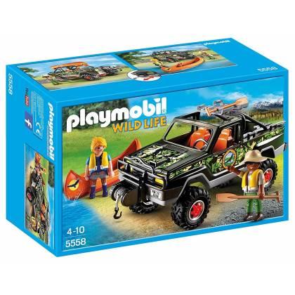 Playmobil Wild Life - Pick-up des Aventuriers - 5558