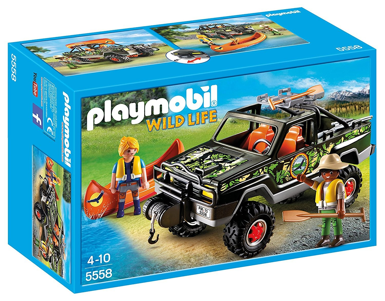 Playmobil - Wild Life - Pick-up des Aventuriers - 5558