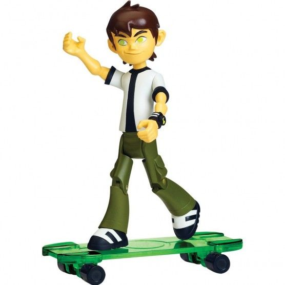Ben 10 Omniverse - Figurine Ben + Skate Vert - 36028
