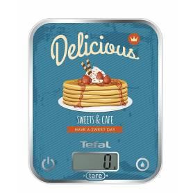 Tefal - Balance de Cuisine - Motif Pancakes - Capacité 5 kg