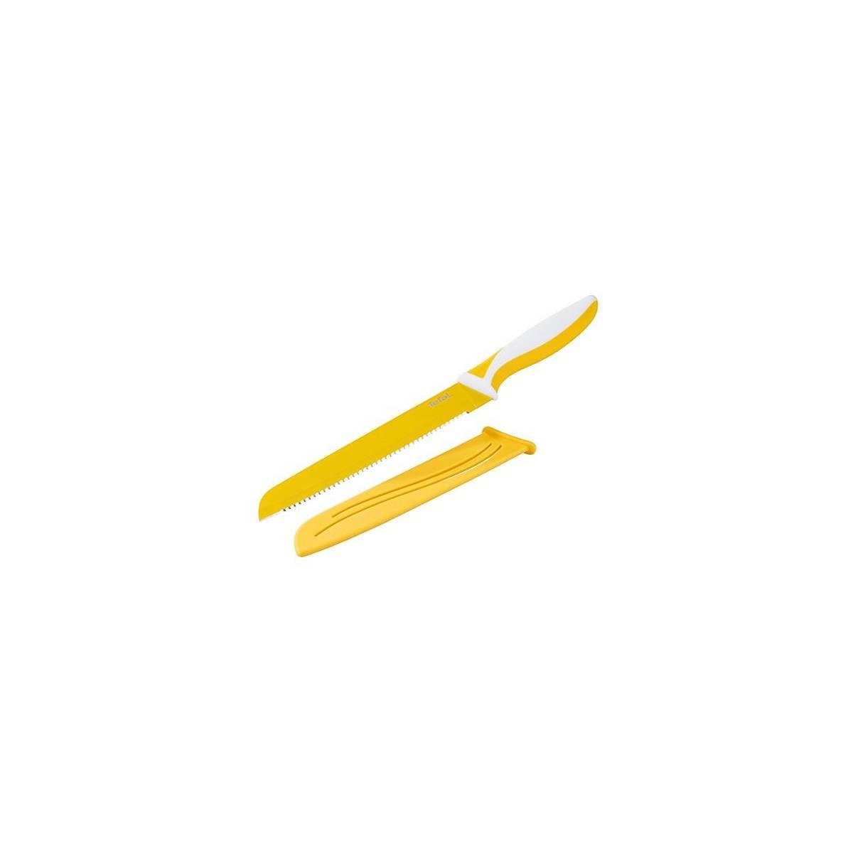Tefal Fresh Kitchen - Couteau à Pain Antiadhésif - 19 cm