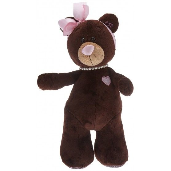 Orange Toys : Peluche Ours Choco Milk - 25 cm - Marron Rose