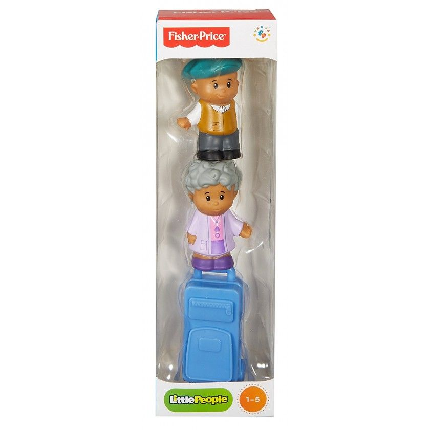 Fisher Price - Tube Figurine Little People - Grand-Parents