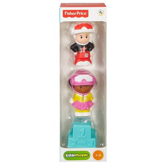 Fisher Price - Tube Figurine Little People - Sport