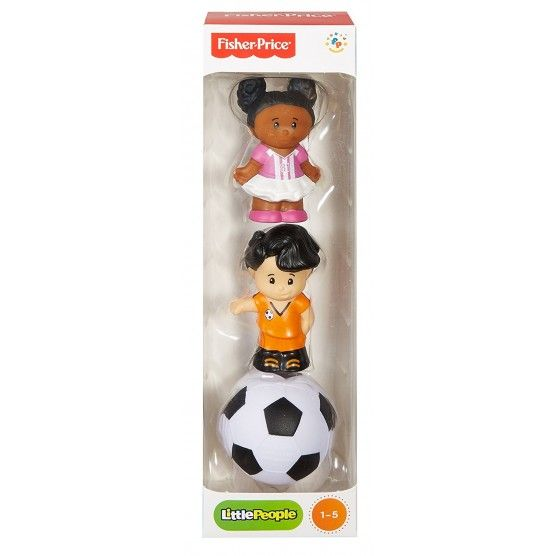 Fisher Price - Tube Figurine Little People - Football
