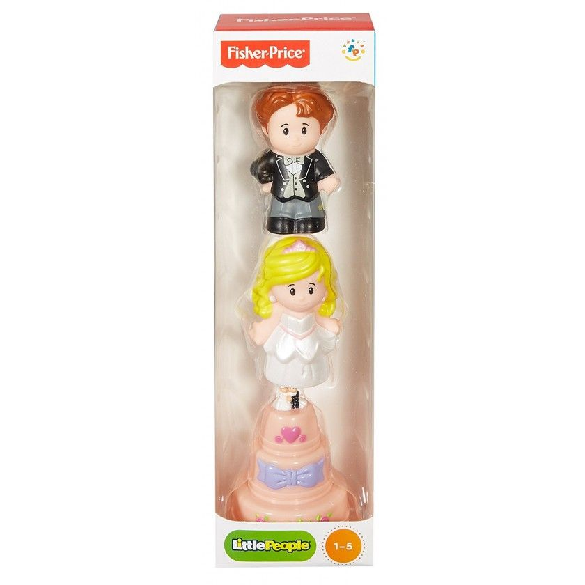 Fisher Price - Tube Figurine Little People - Mariage