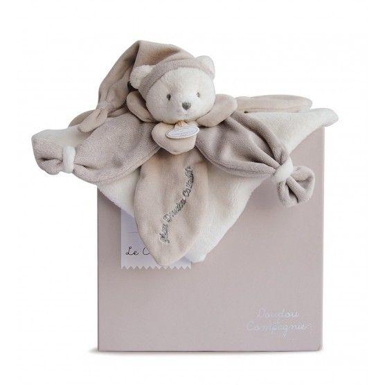 Doudou et Compagnie - J'Aime mon Doudou Collector Ours Gris - DC2922