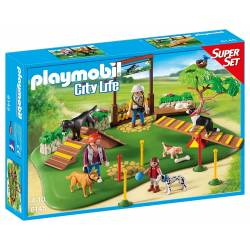 Playmobil - City Life - 6145 - Super Set Centre de Dressage pour Chiens