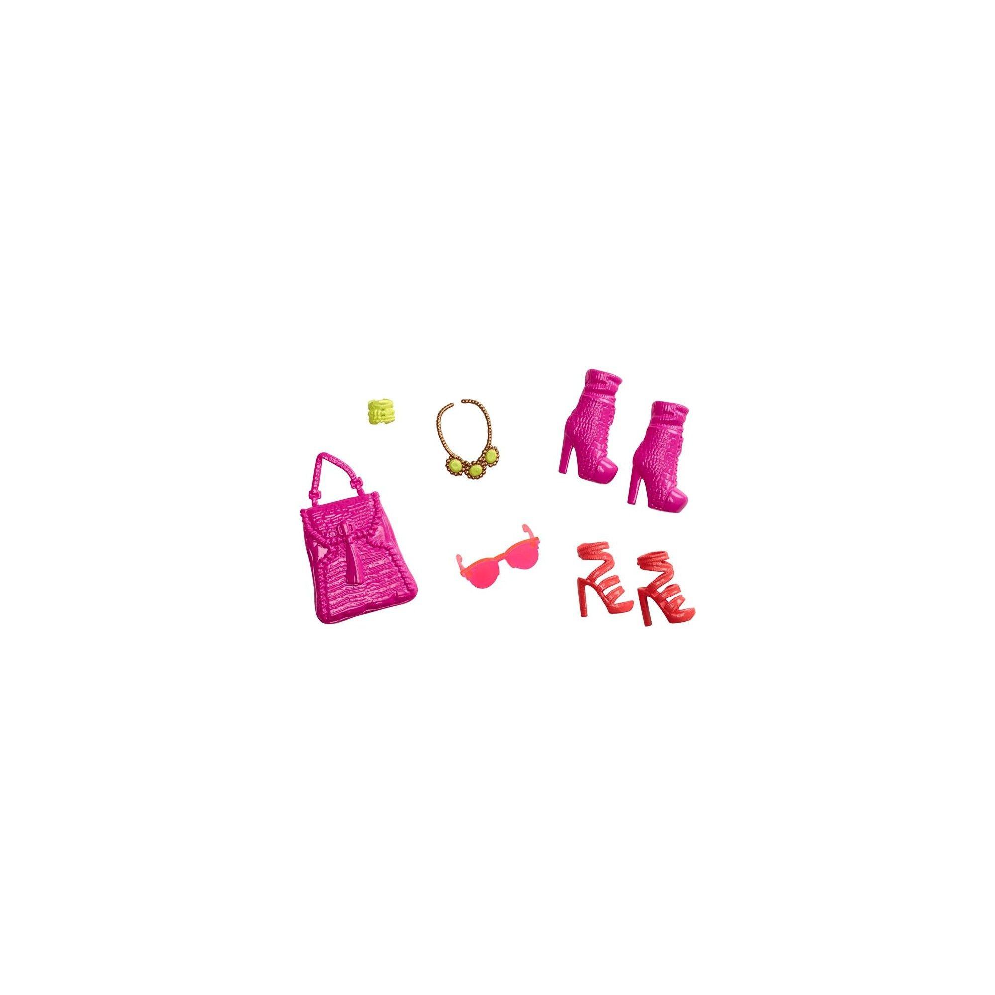 barbie accessoires pour barbie sac et chaussures cfx30. Black Bedroom Furniture Sets. Home Design Ideas