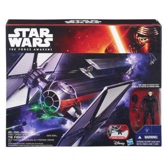 Figurine Star Wars Avec Véhicule Tie Fighter
