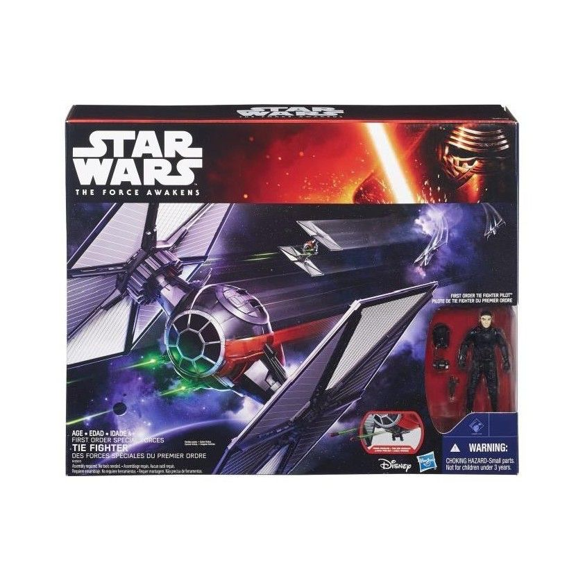 Star Wars - Véhicule - Figurine - Tie Fighter
