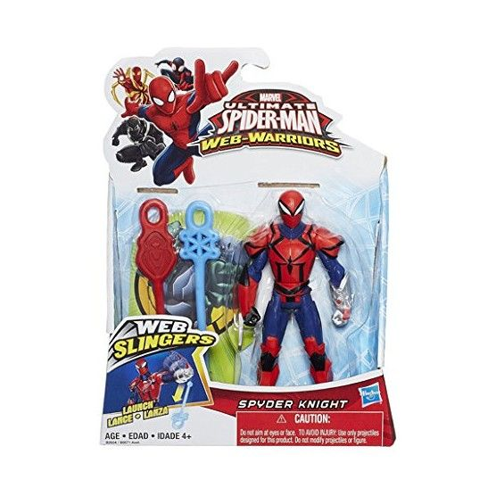 Figurine Spyder Knight Ultimate Spider-Man Web Slingers - 12 cm - B2604