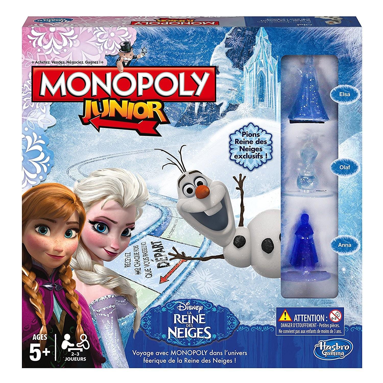 Hasbro - Monopoly Junior - Reine des Neiges - B2247
