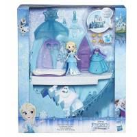 La Reine des Neiges - Le Château d'Elsa et Mini poupée