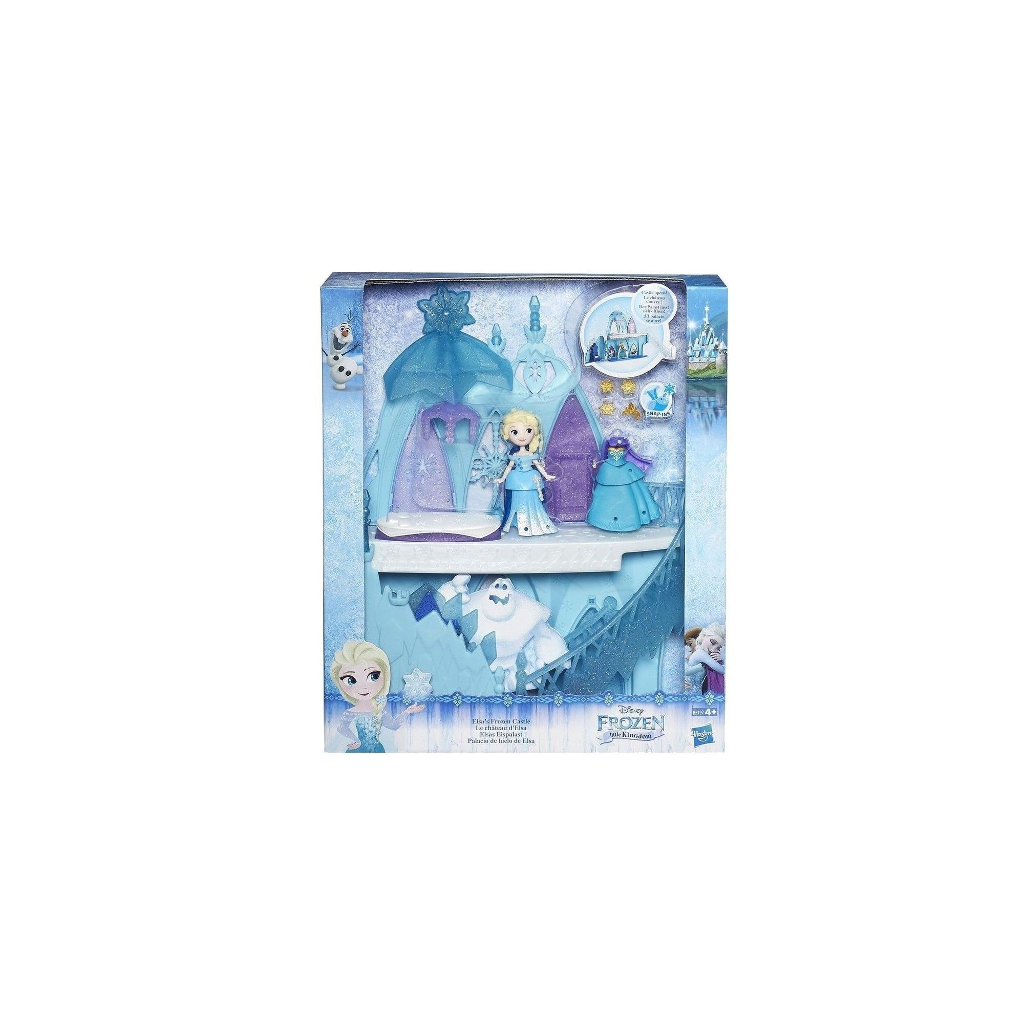 Disney la reine des neiges le ch teau d 39 elsa b5197 for Le chateau de la reine des neiges