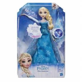 La Reine des Neiges - Poupée Elsa Chanteuse - B6173