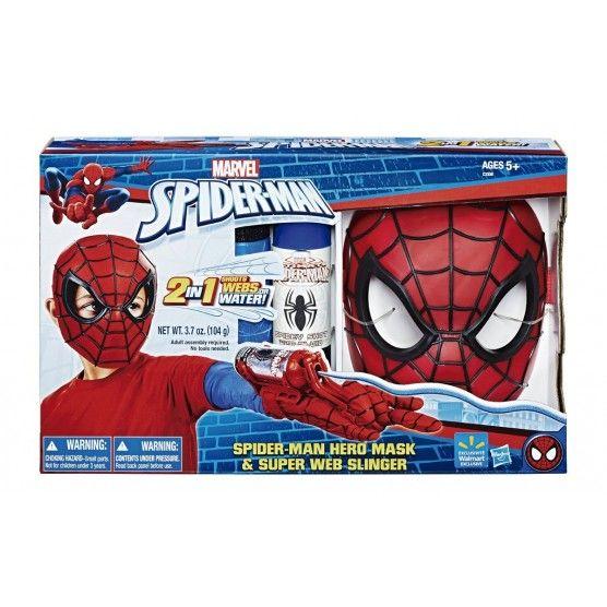 Spider-Man - Masque et Dispositif Lanceur de Toiles - C3308