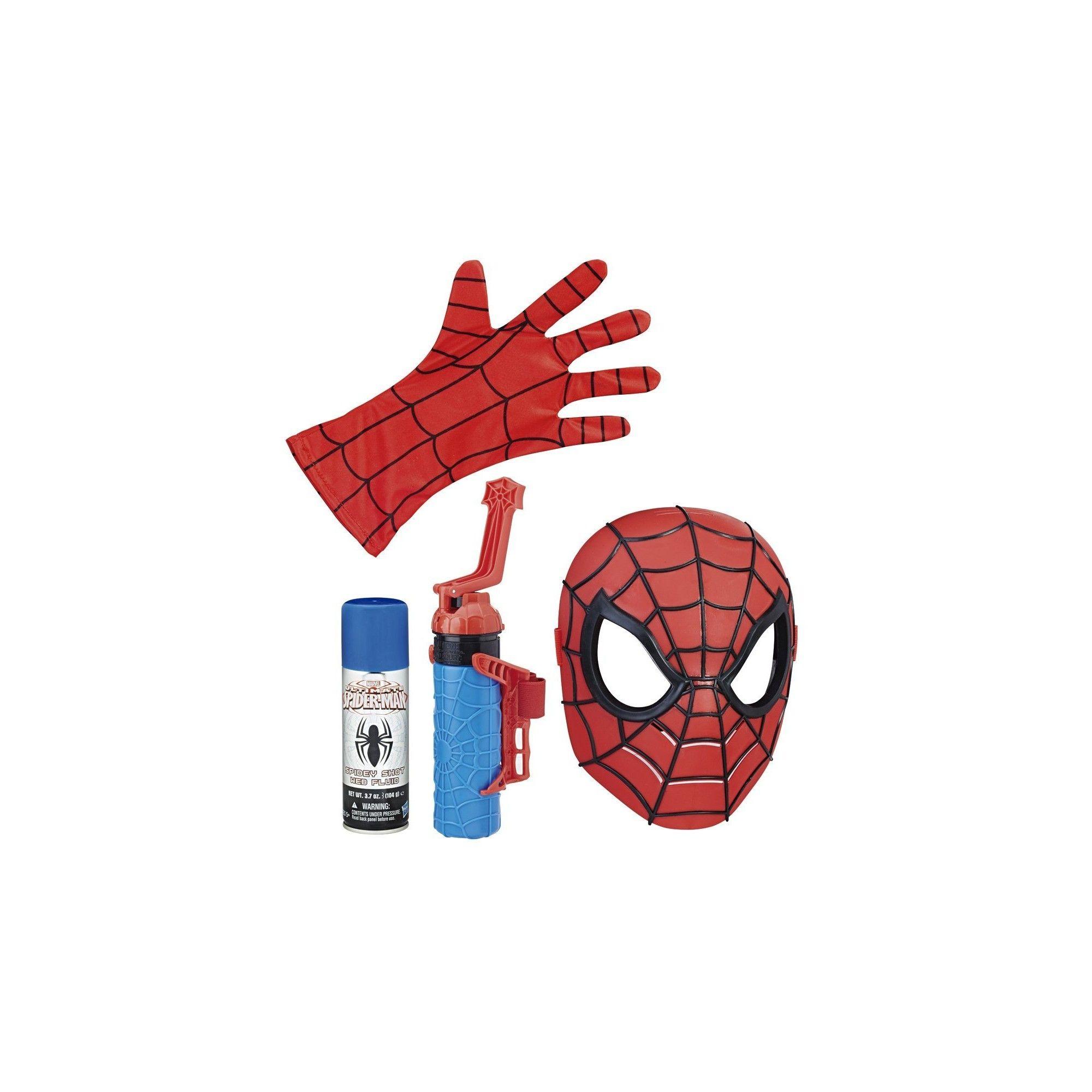 Spider man masque et dispositif lanceur de toiles c3308 - Et spider man ...