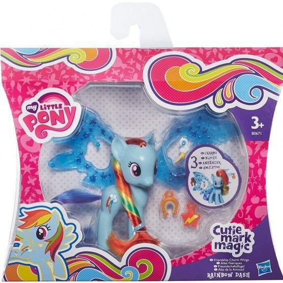 My Little Pony - Cutie Mark Magic - Ailes Féeriques - Rainbow Dash - B0671