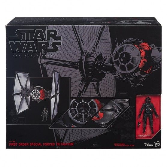 Star Wars - Star Wars Black Series - Tie Fighter et Pilote - B3954