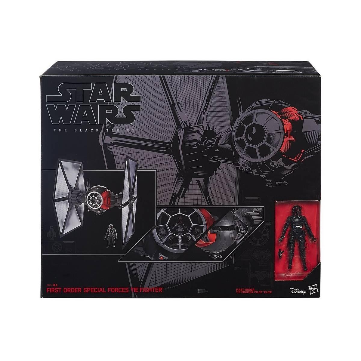 Star Wars - Star Wars Black Series - Tie Fighter et Pilote - B3954