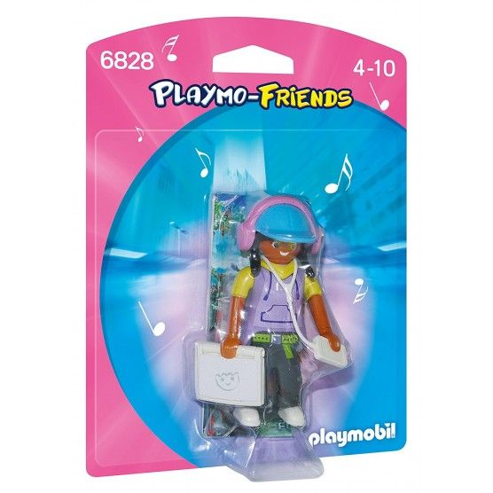 Playmobil - 6828 - Figurine Ado avec Ordinateur