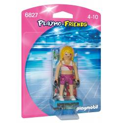 Playmobil - 6827 - Figurine Coach de Fitness