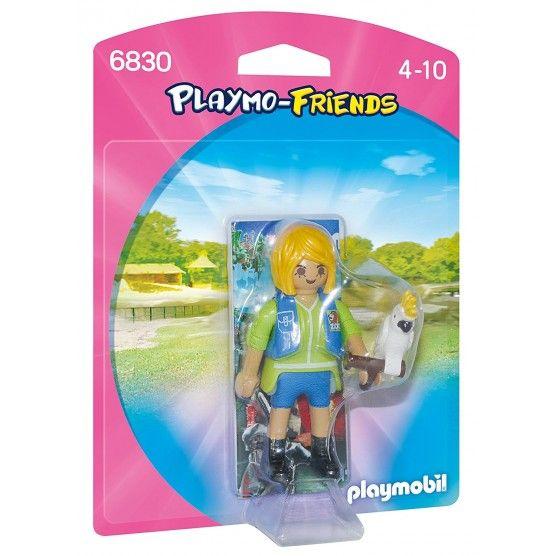 Playmobil - 6830 - Figurine Entraineuse avec Cacaotès