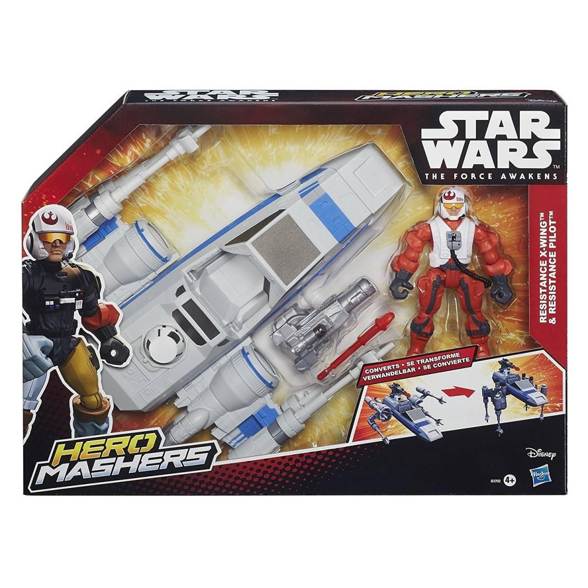 Hero Mashers - Star Wars - Véhicule - Resistance X-Wings