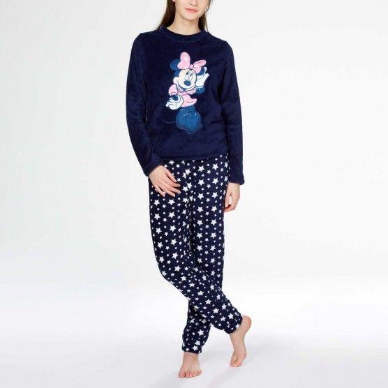 Minnie volwassen fleece pyjama - van S tot XL