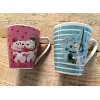 Snoopy - Lot de 2 Tasses boîte cadeaux - 105614