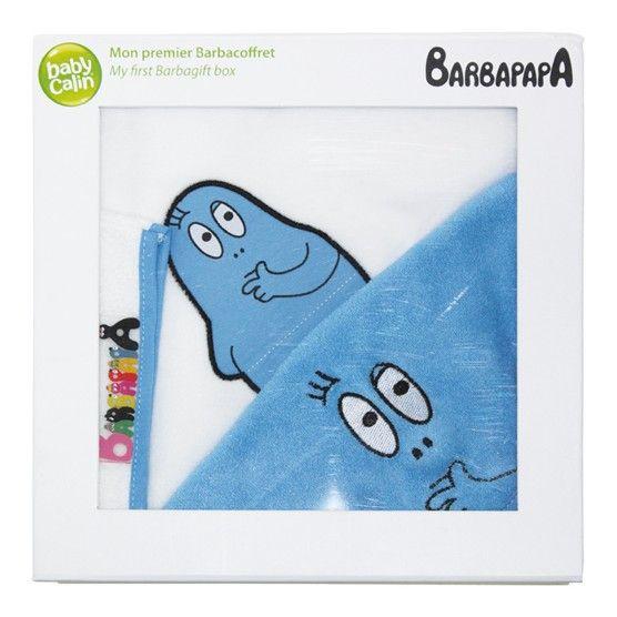BARBAPAPA - Babycalin - Mon Premier Barbacoffret - Bleu