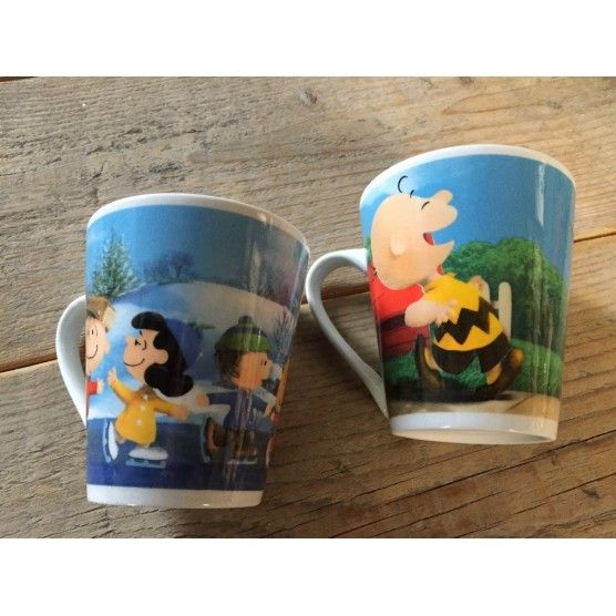 Snoopy - Lot de 2 Tasses