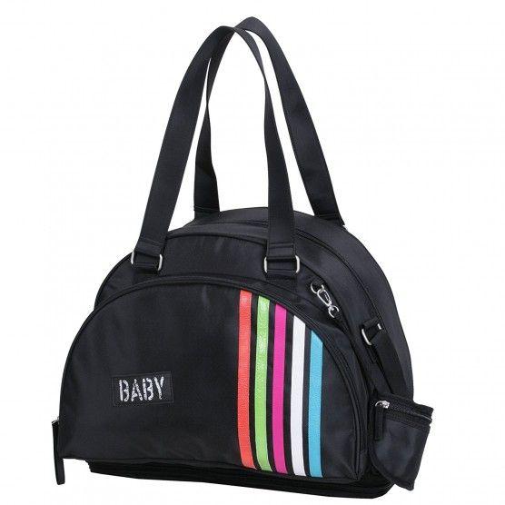 Babycalin - Sac à Langer Bowling Rayures - 42 x 29 x 20 cm