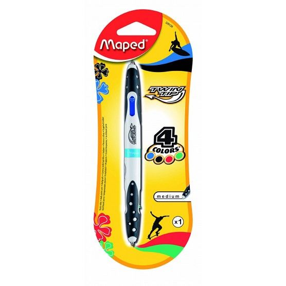 Maped - Stylo 4 Couleurs