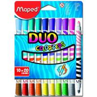 Maped - Etui de 10 Feutres Duo Color'Peps