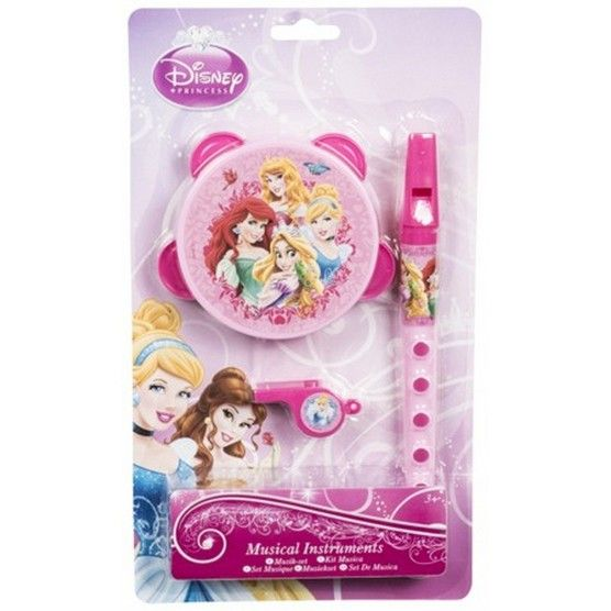 Disney Princess - Petit Set Musical - 3 Instruments