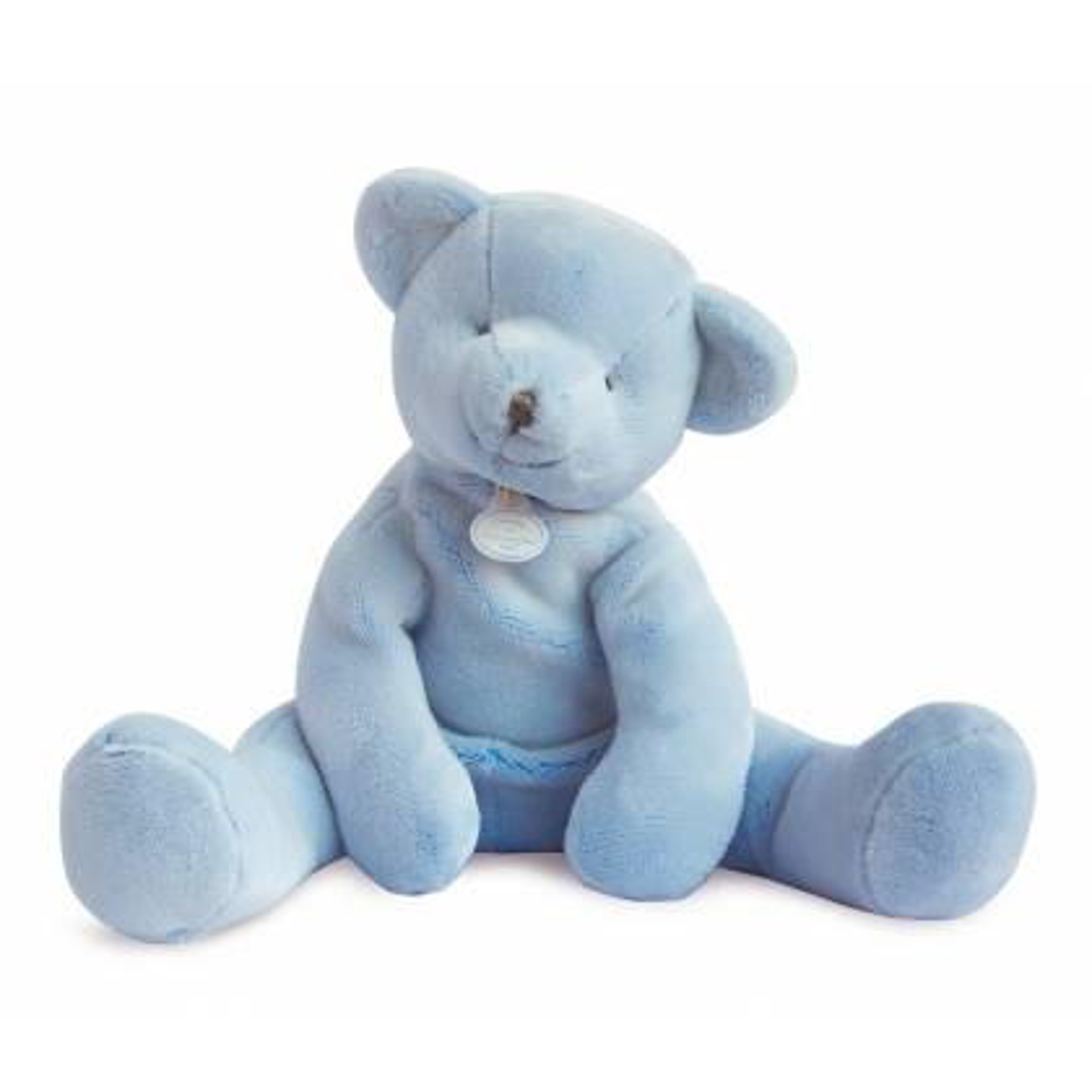 Doudou et Compagnie - J'Aime mon Doudou Ours Bleu - 35 cm