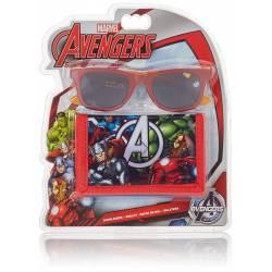 Avengers Disney - Lunettes de Soleil + Porte-Monnaie