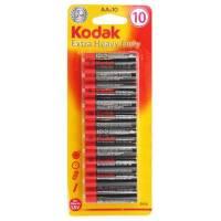 Kodak - Paquet de 10 Piles AA R06 - 1,5 volt