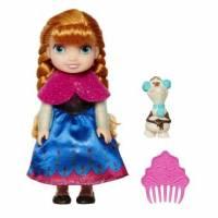 Reine des Neiges - Poupée Anna avec Olaf - 15 cm