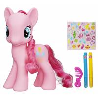 My Little Pony - Figurine à Décorer Pinkie Pie - 20 cm