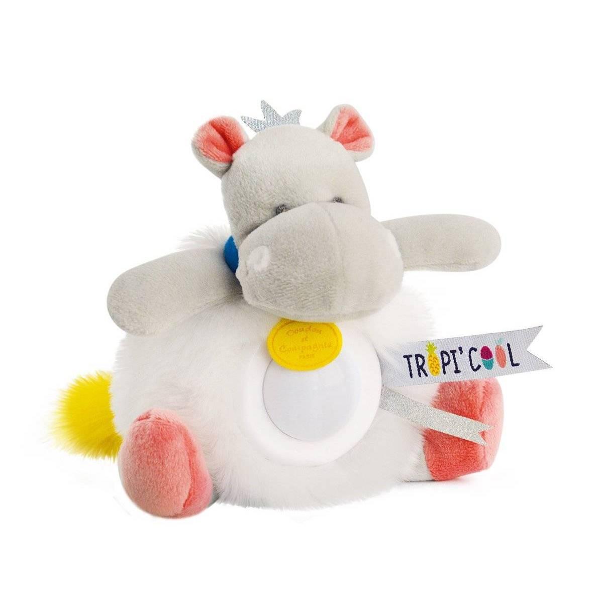 Doudou et Compagnie - Veilleuse Hippo - 20 cm